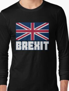 Vote Brexit, Funny UK Independence Day 2016, British T-Shirt Long Sleeve T-Shirt