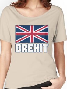 Vote Brexit, Funny UK Independence Day 2016, British T-Shirt Women's Relaxed Fit T-Shirt