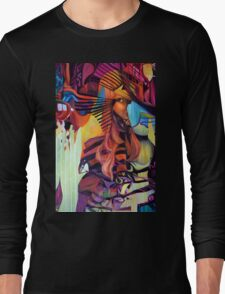 Crazy in Love, 120-80cm, 2016, oil on canvas Long Sleeve T-Shirt