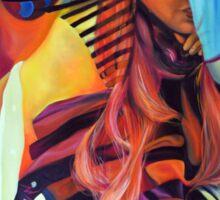Crazy in Love, 120-80cm, 2016, oil on canvas Sticker