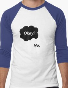 The Fault in Our Stars - Okay? No. Men's Baseball ¾ T-Shirt