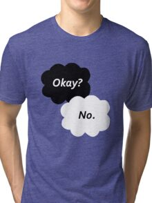 The Fault in Our Stars - Okay? No. Tri-blend T-Shirt