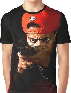 Boyz N The Hood Blood Graphic T-Shirt