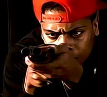 Boyz N The Hood Blood Sticker