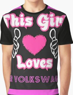 This Girl Loves VW Graphic T-Shirt
