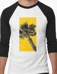 Yellow Palm  Men's Baseball ¾ T-Shirt