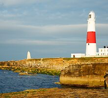Morning at Portland Bill Lighthouse by Ian Middleton