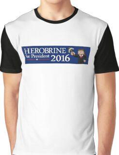 Herobrine for President Graphic T-Shirt