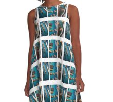 Guitar Art A-Line Dress