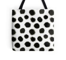 Pattern with black spots Tote Bag