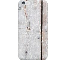 Wooden Barn Door Weathered Texture iPhone Case/Skin