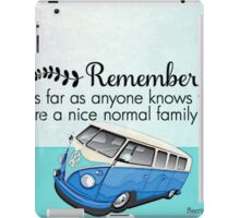 Family Split screen iPad Case/Skin