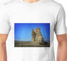 Kansas Castle Rock with Bluesky Unisex T-Shirt