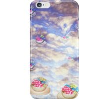 Tea cup precipitation iPhone Case/Skin