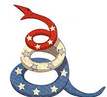 Patriotic Snake by LeslieHarris