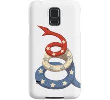 Patriotic Snake Samsung Galaxy Case/Skin