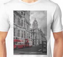 Old Buses B&W - London Unisex T-Shirt