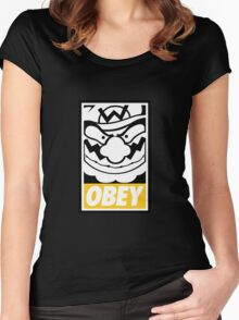 OBEY WARIO Women's Fitted Scoop T-Shirt
