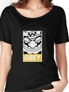 OBEY WARIO Women's Relaxed Fit T-Shirt