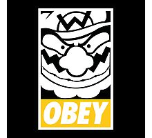 OBEY WARIO Photographic Print