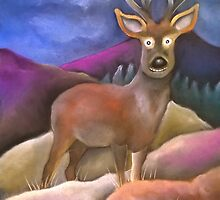 Monarch of the glen by Caroline  Peacock