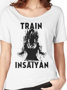 Train Insaiyan Women's Relaxed Fit T-Shirt