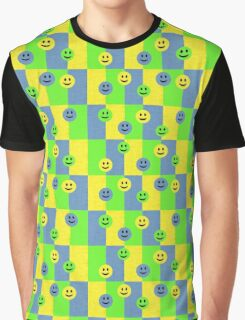 funny emoticon faces Graphic T-Shirt