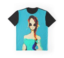 Alien Princess Comic Graphic T-Shirt