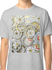 Old Watch Dials Classic T-Shirt