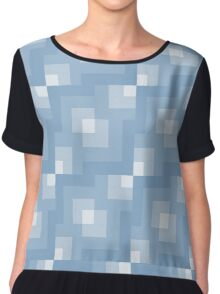 Retro style abstract Chiffon Top