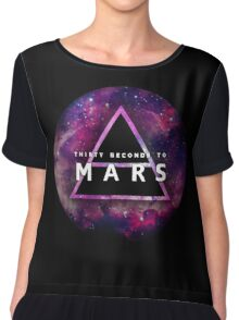 30 Seconds to Mars: Galaxy Design Chiffon Top