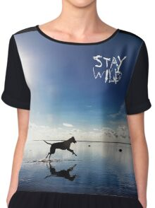 Stay Wild .7 Chiffon Top