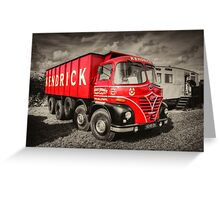 Foden S21A    Greeting Card