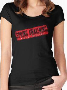 Spring Awakening Logo 1 Women's Fitted Scoop T-Shirt