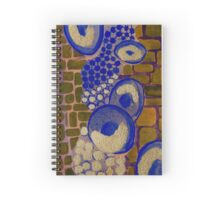 Abstract Network Painting - Vertical Spiral Notebook