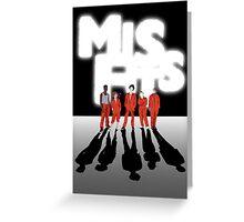 Misfits Fan Art Greeting Card
