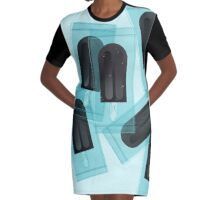 dark ice-cream. Graphic T-Shirt Dress