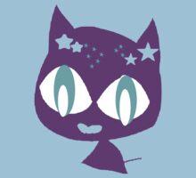 Purple kitten Baby Tee
