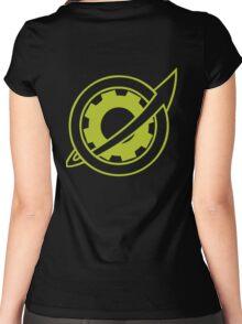 steins; gate- future gadget lab Women's Fitted Scoop T-Shirt