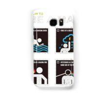 be a man Samsung Galaxy Case/Skin