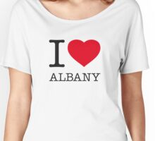 I ♥ ALBANY Women's Relaxed Fit T-Shirt