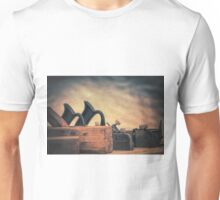 Plane Texture Unisex T-Shirt