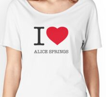 I ♥ ALICE SPRINGS Women's Relaxed Fit T-Shirt