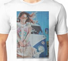the Beauty or the Volkswagen Bus  Unisex T-Shirt
