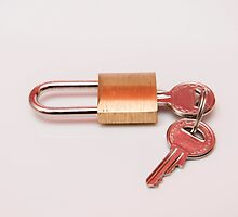 padlock with keys by arnau2098