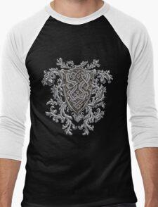 Celtic Crest Men's Baseball ¾ T-Shirt