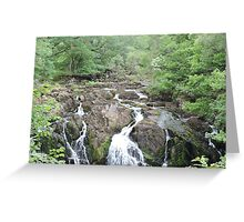 Swallow Falls: Wales Greeting Card