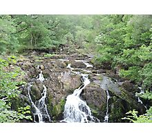 Swallow Falls: Wales Photographic Print