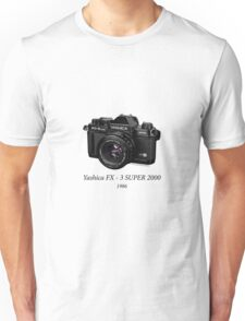 Yashica FX - 3 SUPER 2000 Unisex T-Shirt