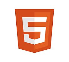 HTML 5 - Silicon Valley Photographic Print